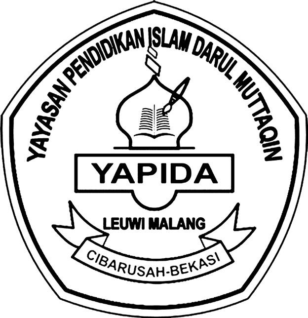 Logo yapida hitam putih